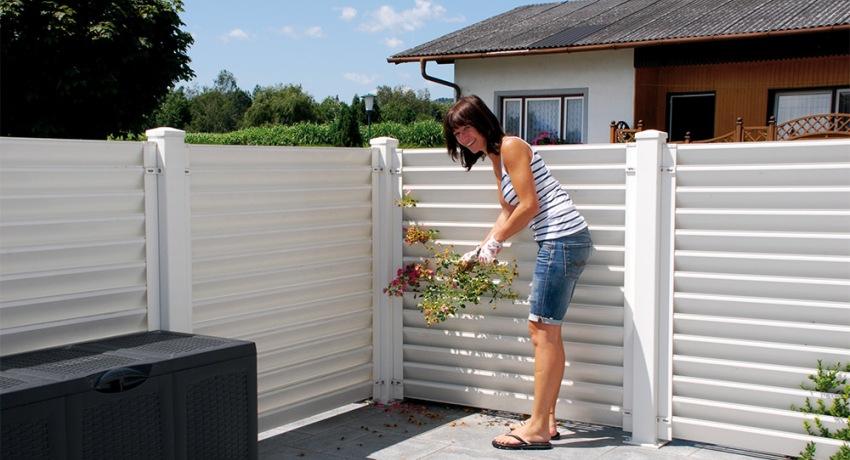 Забор-жалюзи металлический: как создать красивое и прочное ограждение