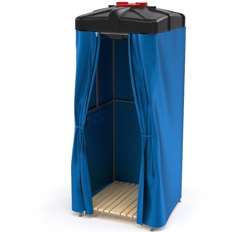Баки для душа с нагревательным элементом без терморегулирования обходятся значительно дешевле