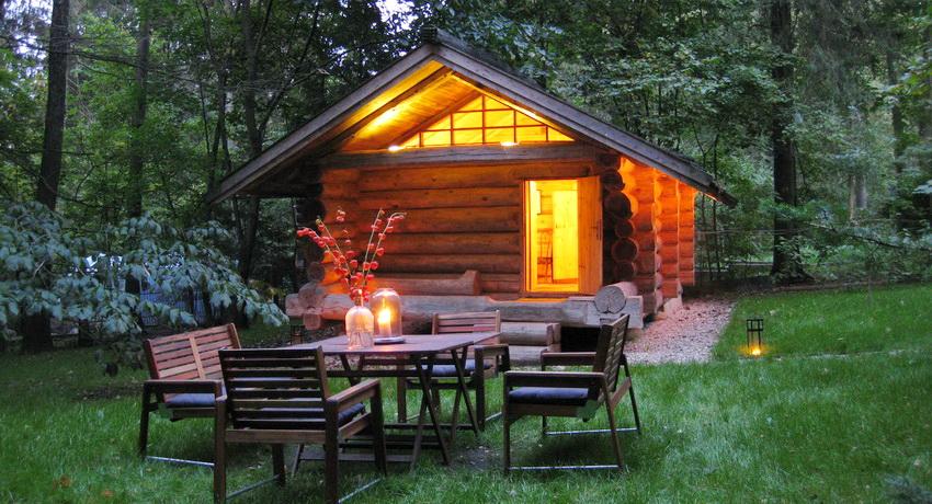 Баня с мансардой будет уютным уголком отдыха в любое время года