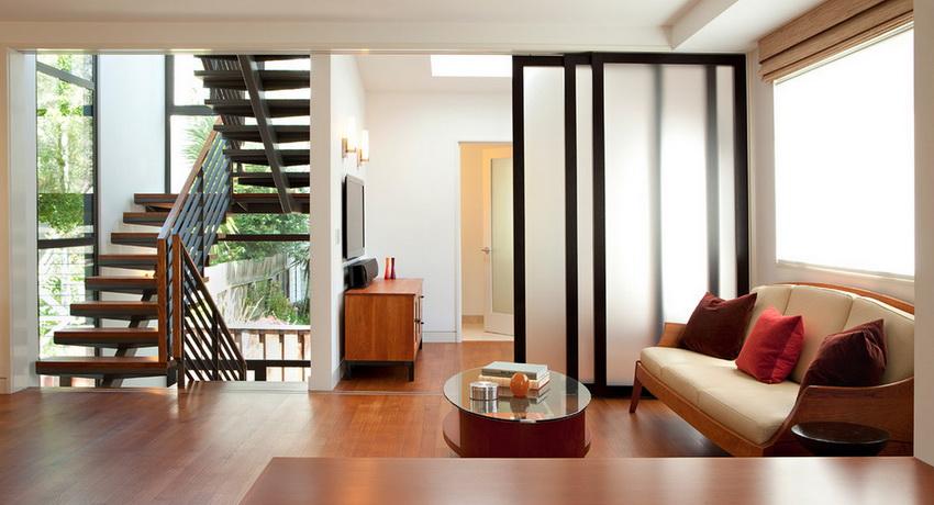 Дверь стеклянная межкомнатная как стильный акцент в современном интерьере