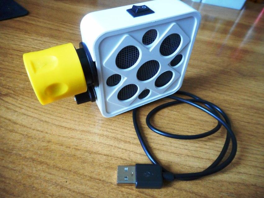 Компрессор для дымогенератора своими руками можно выполнить из старой компьютерной детали - кулера