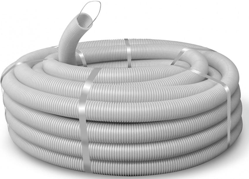 В большинстве случаев производители изготавливают гофротрубу с протяжкой для простоты прокладки электрических сетей
