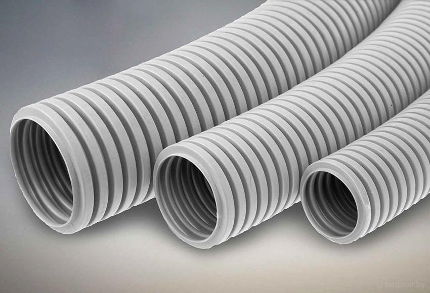 Пластиковые гофротрубы устойчивы к коррозии, легкие и долговечные