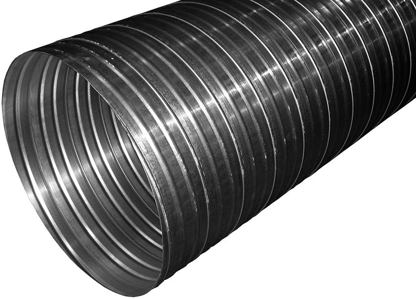 Гофротрубы из металла прочные, долговечные, устойчивые к химическим воздействиям и недорого стоят