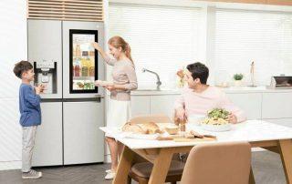 Холодильник с прозрачной дверью: стильный агрегат на современной кухне