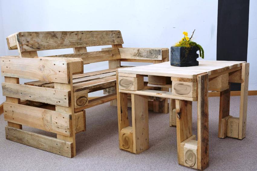 Обновить дом мебелью без особых затрат помогут обычные деревянные ящики