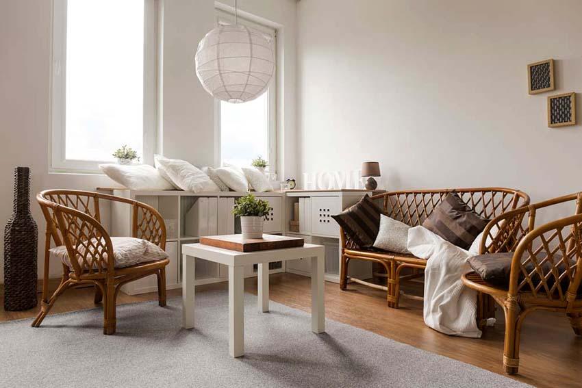 Если мебель полностью однородна, линии идеально ровные и отсутствуют шероховатости – значит это искусственный ротанг