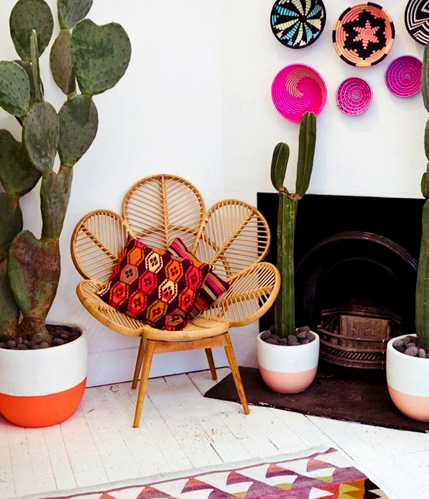 The biggest drawback of rattan furniture is the high cost of products