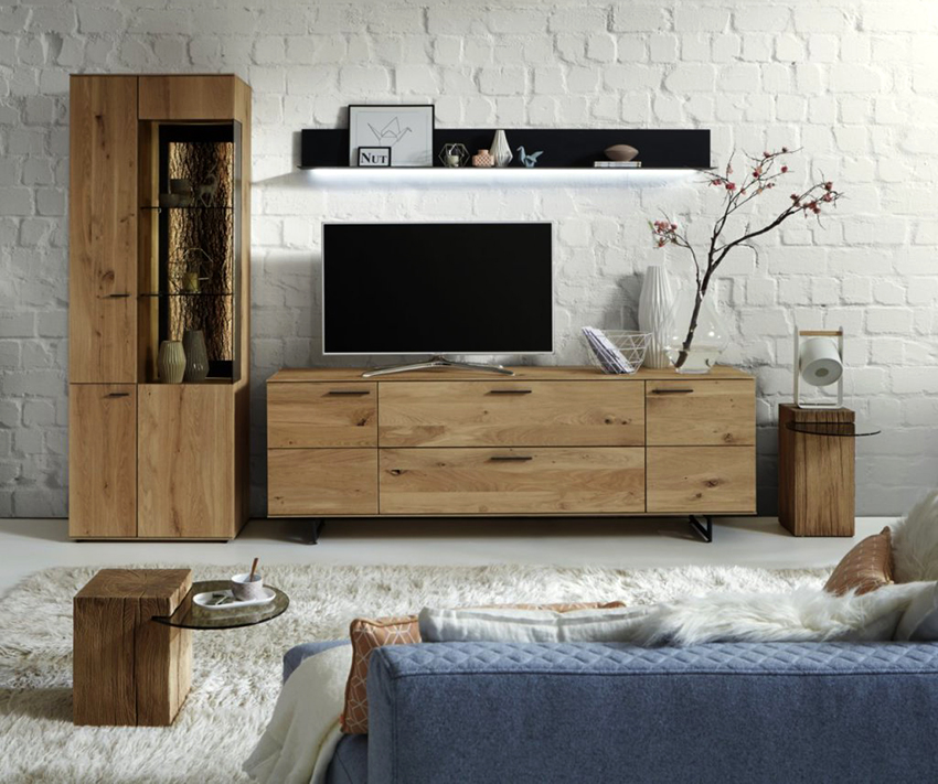 As a rule, chest of drawers and pedestals are made of wood boards, so they are strong and durable