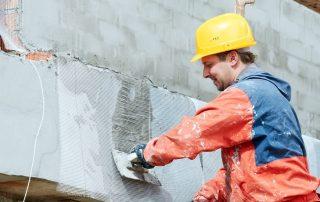 Мокрый фасад: технология, идущая в ногу со временем