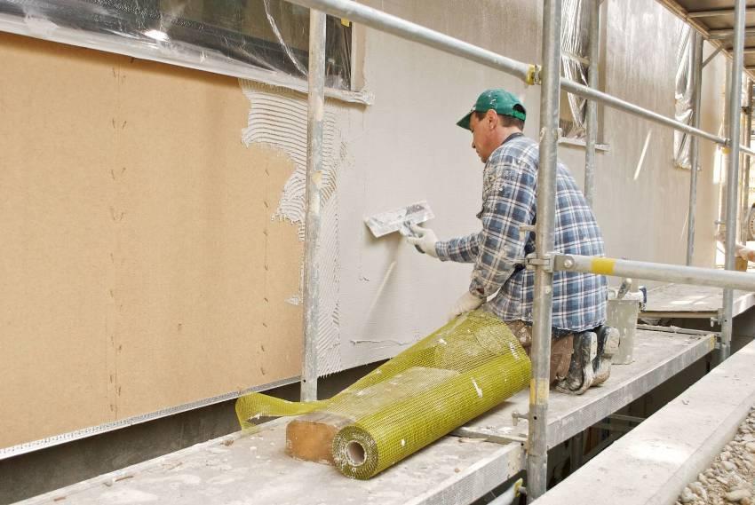 Общая стоимость готовой системы мокрого фасада представляет собой суммарную цену составляющих компонентов и выполненной работы
