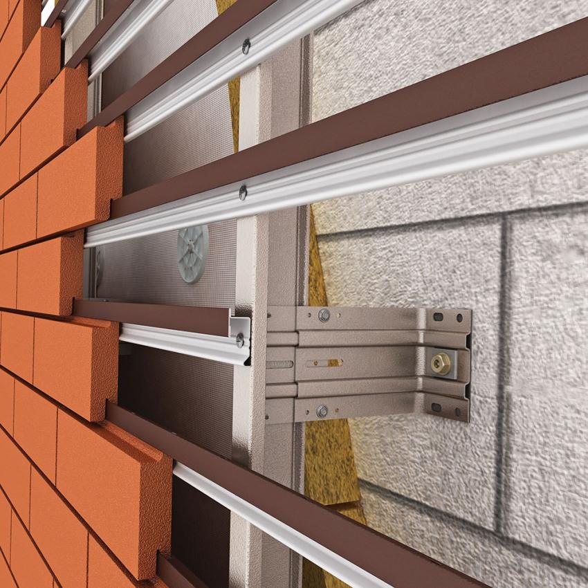 Вентилируемый фасад поможет скрыть все неровности и дефекты стен