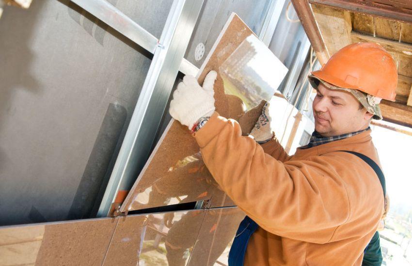 Фасады вентилируемого типа монтируются на здание без специальной предварительной подготовки объекта строительства