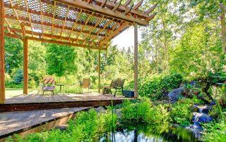 Пергола: фото в ландшафтном дизайне, яркие идеи для создания лаунж-зоны