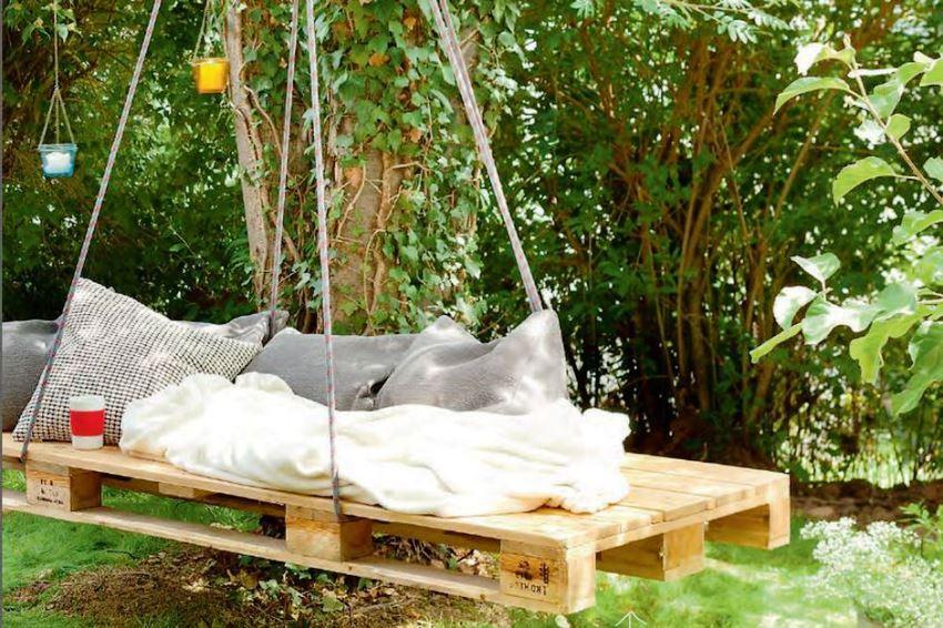 На покупке садовой мебели можно сэкономить, сделав ее своими руками