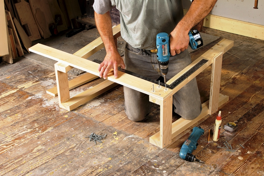 Создать мебель для дачи используя чертеж не составит особого труда