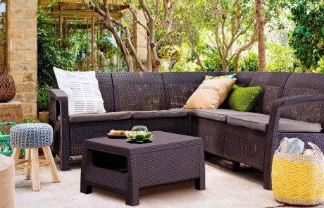 Садовая мебель для дачи: стильное оформление придомовой территории