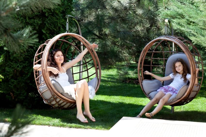 Мебель из натурального ротанга прослужит долго, если за ней правильно ухаживать
