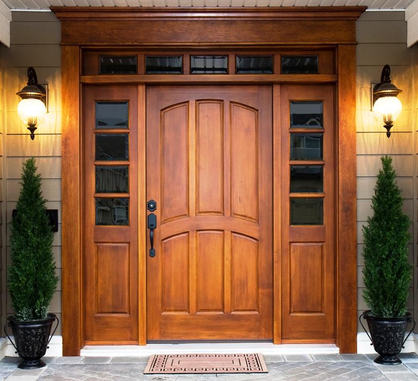 Если дверь имеет дополнительные элементы в конструкции или они больше стандартных размеров, их цена будет выше