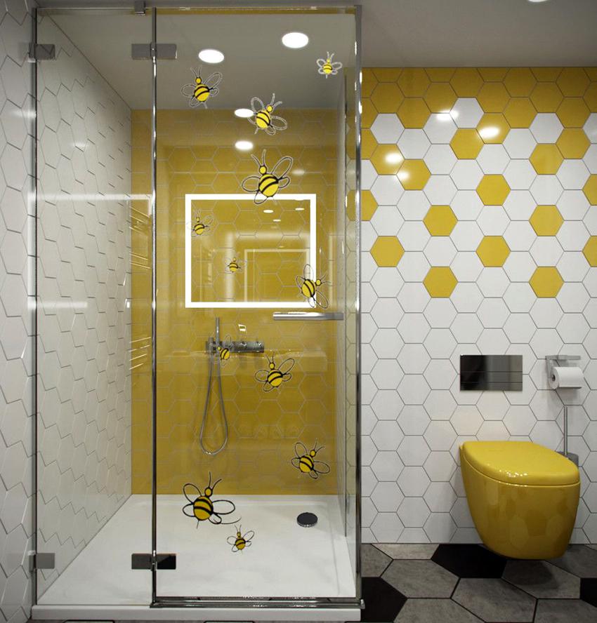 Если помещение не очень большое, то рекомендуется использовать светлые тона, разбавленные яркими красками