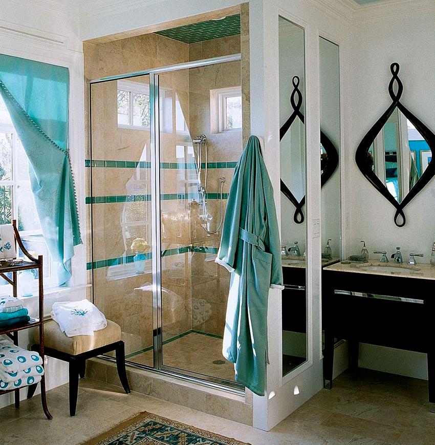 Для дизайна ванной комнаты отлично подойдет стиль прованс