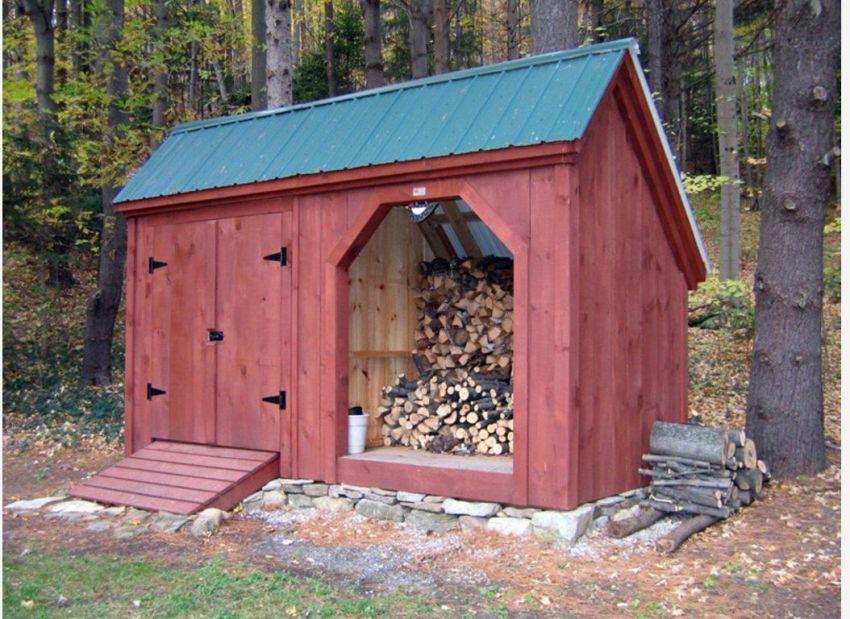 Перед тем как строить дровяник, нужно сопоставить бюджет с желаемым результатом