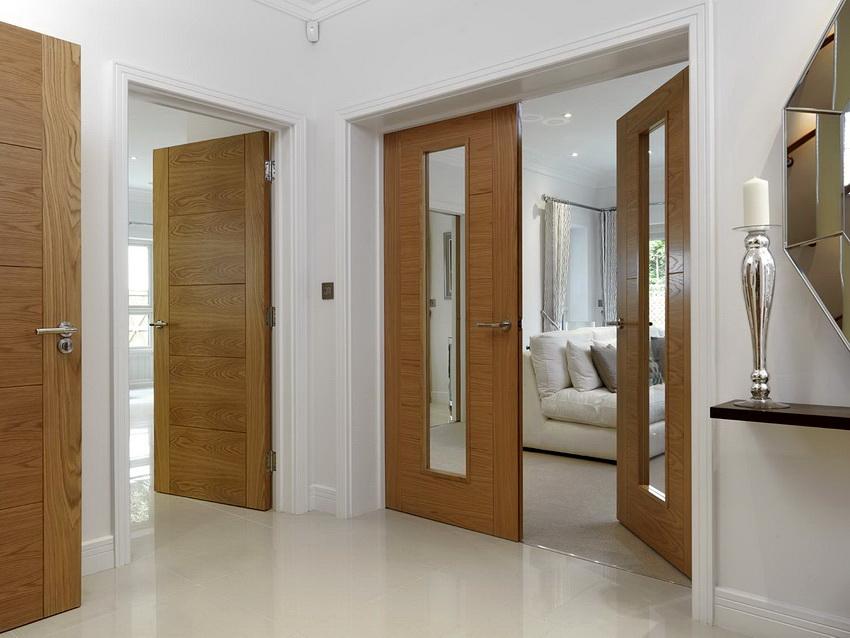 Качество и прочность дверей сильно зависят от предварительной обработки пиломатериала и способа изготовления