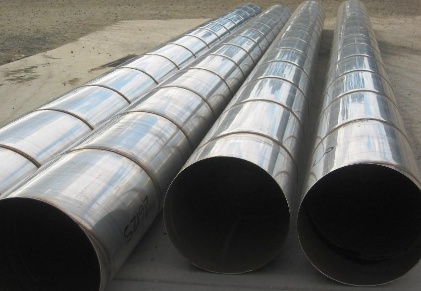 Металлические трубы со спиралевидным швом отличаются большой выносливостью, стойкостью к высокому давлению