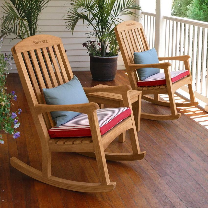 Кресло-качалка - это символ уюта и приятного расслабленного отдыха