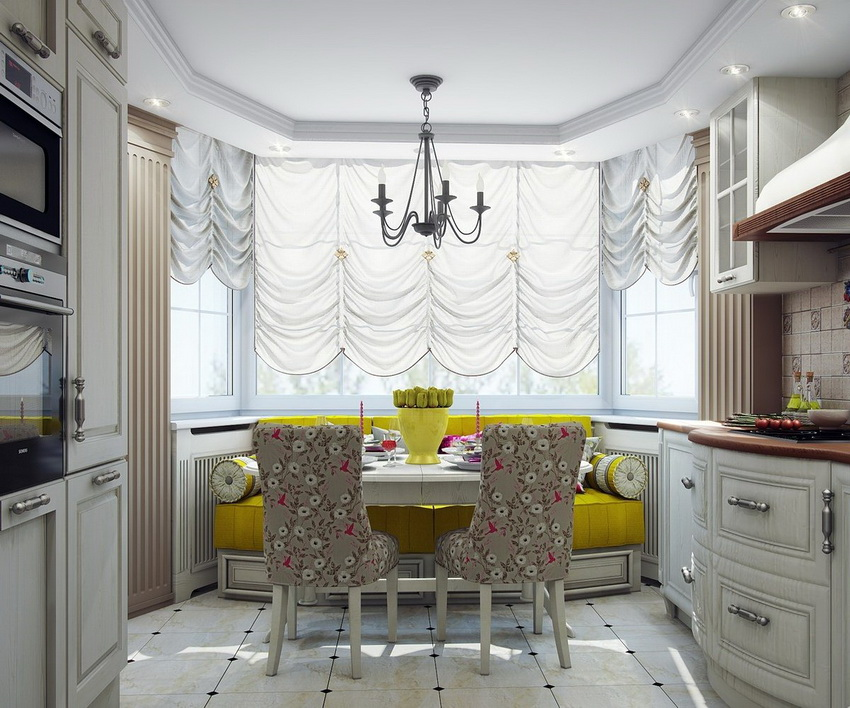 Лучший вариант, когда обеденный стол подбирается в одном стиле со всей остальной мебелью