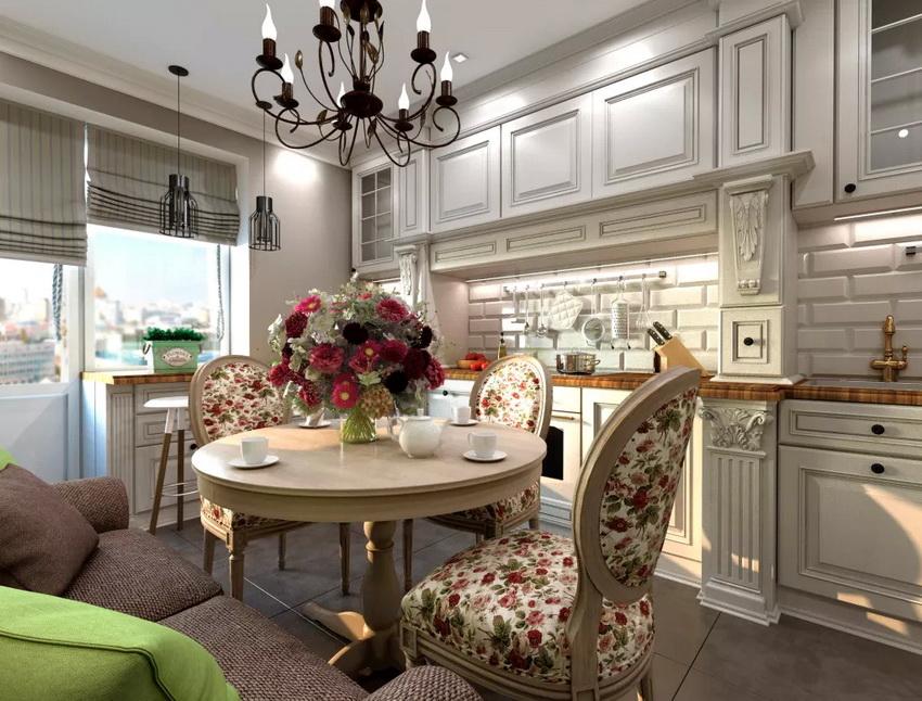 Приобретая круглый стол для кухни, следует тщательно измерить пространство и убедиться, что он гармонично впишется в общий дизайн