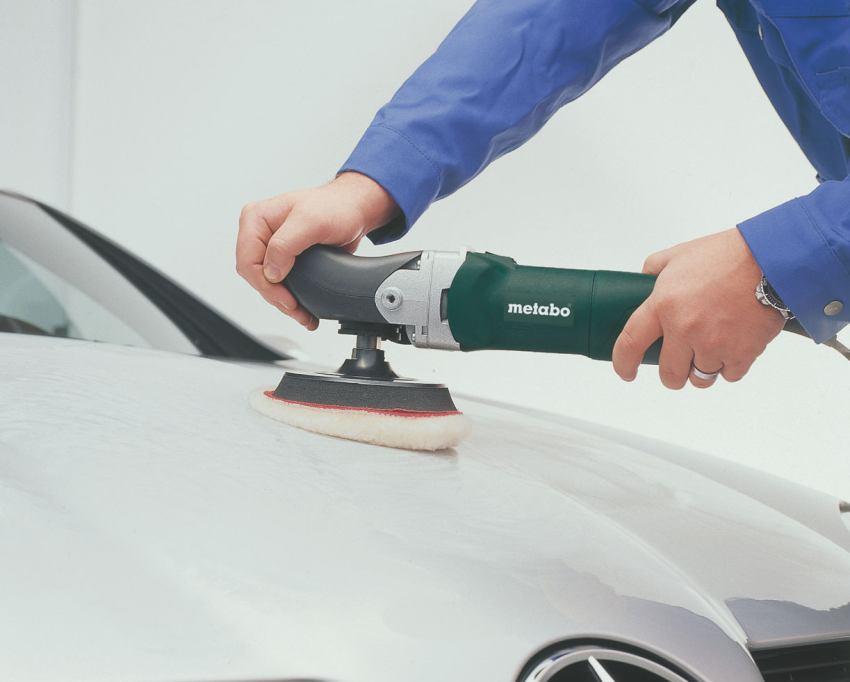 Для полировки авто большой популярностью пользуются войлочные и фетровые диски