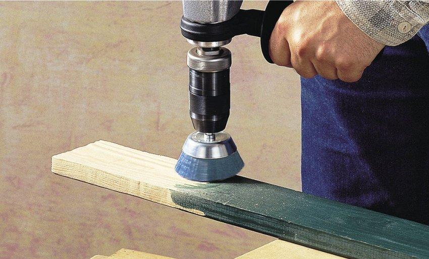 Для финишной отделки деревянных поверхностей используются чашечные изделия