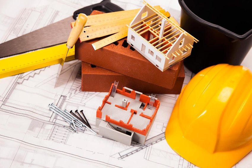 Организационная схема планировки земельного участка представляет собой схематическое изображение расположения объектов строительства