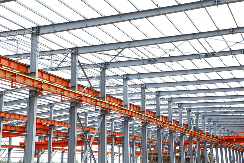 Двутавровая балка часто применяется в металлических каркасных конструкциях, зданиях и сооружениях промышленного и гражданского строительства