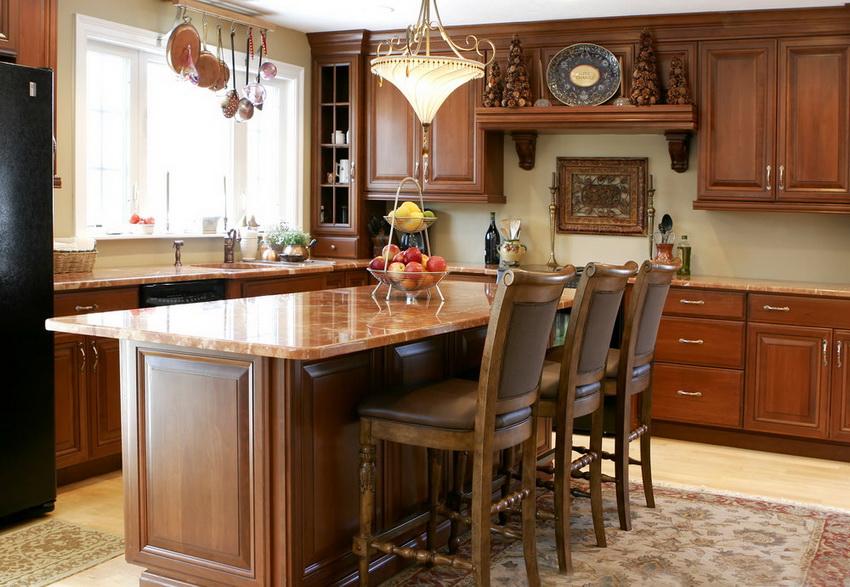 Стулья для кухни от Икеа могут быть как классическими, так и в стиле модерн