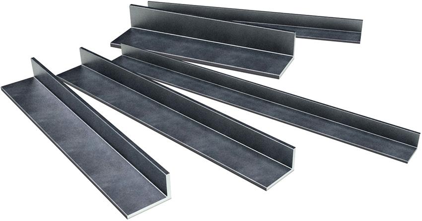 У неравнополочных металлических уголков одна из сторон больше по размеру