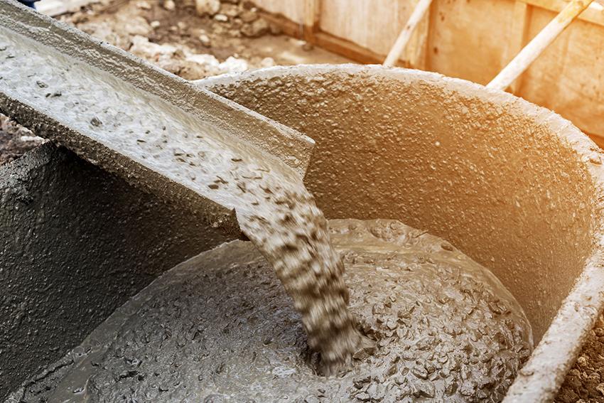 Количество жидкого стекла в бетоне рассчитывается в зависимости от цели применения