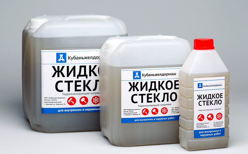 Средняя стоимость жидкого стекла составляет 50 рублей за кг