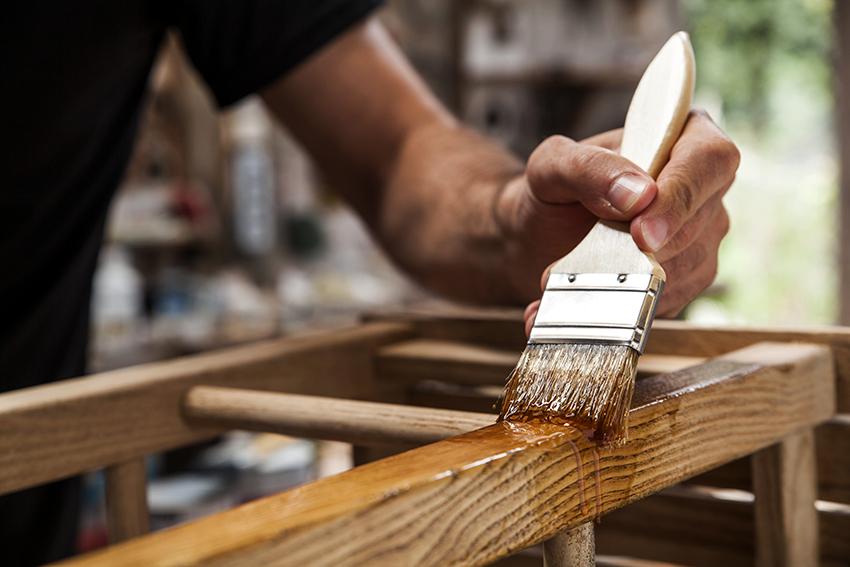 Силикат натрия можно применять для гидроизоляции древесины