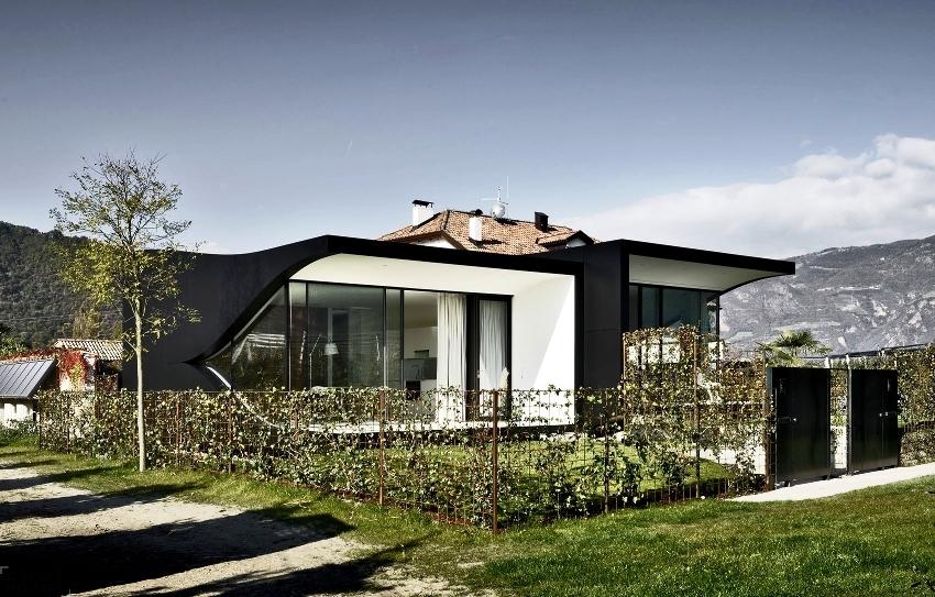 Лофт-дизайн одноэтажного дома всегда индивидуален и неповторим