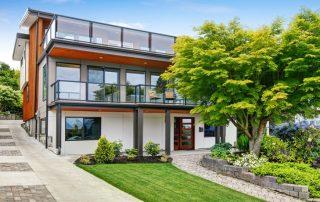 Дом в стиле модерн: как совместить классику и современные тенденции строительства