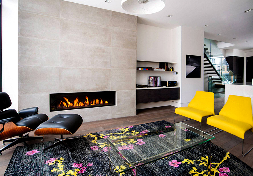 Интерьер дома из клееного бруса должен быть простым и уютным