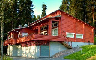 Дома из клееного бруса: проекты зданий с удачными планировками