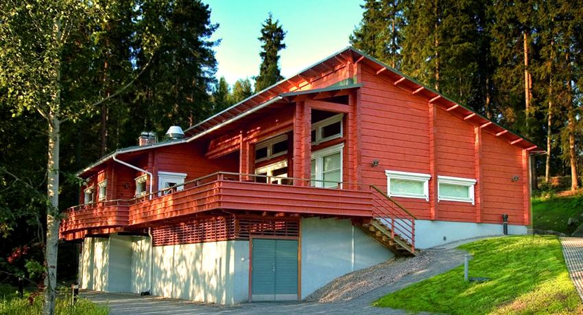 Дома из клееного бруса: проекты зданий с восхитительными планировками
