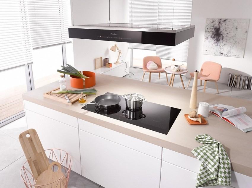 Посуда, во время приготовления находящаяся на соседних конфорках, не должна мешать друг другу