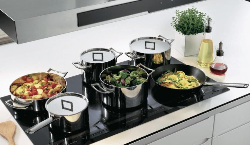 Не все кастрюли и сковородки могут быть пригодны для использования на индукционной плите