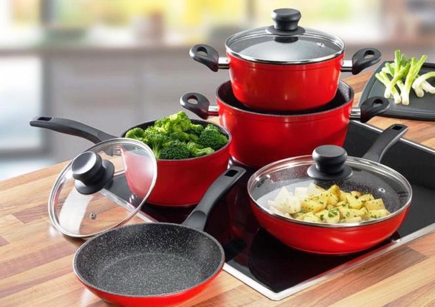Посуда, предназначенная для индукционной плиты, будет иметь характерную маркировку