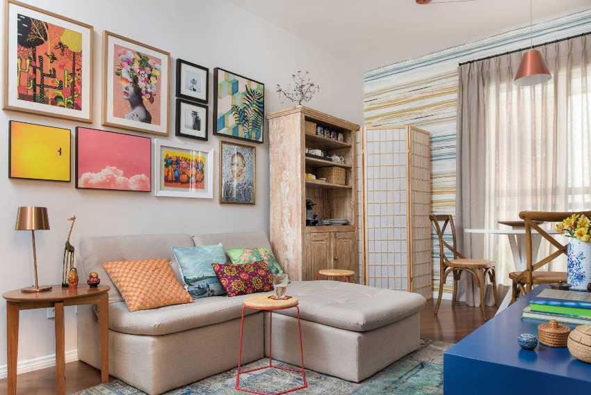 Создать отдельные зоны и комфортные уголки в доме поможет рациональное размещение мебели
