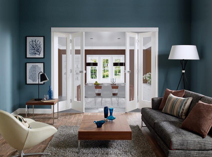 Самые популярные материалы для изготовления дверей – это дерево, стекло и экошпон